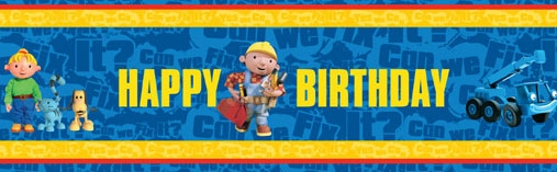 Bob The Builder Party Products
