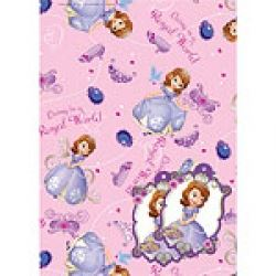 Disney Sofia The First Gift Wrap And Tags