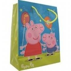 peppa pig party gift bag large