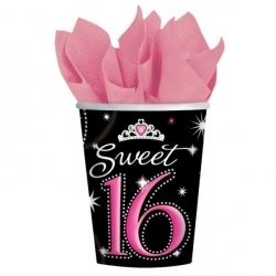 Sweet Sixteen Party Cups
