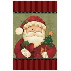 Cozy Santa Party Tablecover