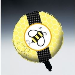 Buzz Bee Metallic Foil Balloons