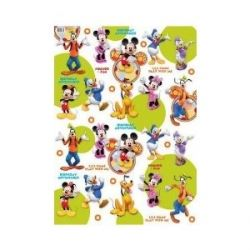 Mickey Mouse Birthday Party Present Gift Wrap And Tags