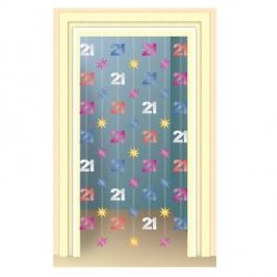 21st Birthday Party Door Dangler Decoration