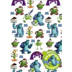Monster Inc Gift Wrap And Tags
