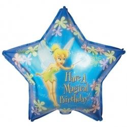 Tinkerbell Helium Foil Balloons
