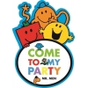 Mr Men Travel Party Invitations