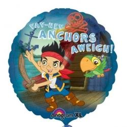 Jake & The Neverland Pirates Anchors Aweigh  Foil Balloons