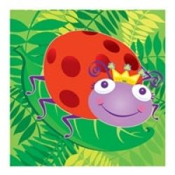 Happy Bugs Everywhere Party Napkins