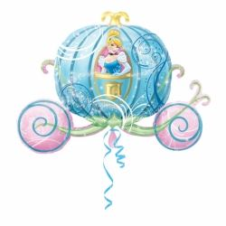 Cinderella  SuperShape Carriage Party Foil Balloon