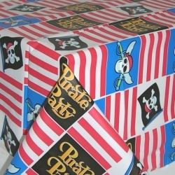 Skull & Cross Bones Pirate Party Tablecovers