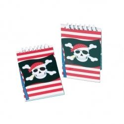 Skull & Cross Bones Pirate Party Note Book