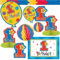 First Birthday Boy Decorating Kit