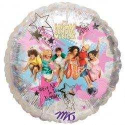 High School Musical Holographic Foil Balloon
