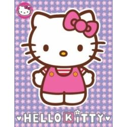 Hello Kitty Birthday Card With Free Badge