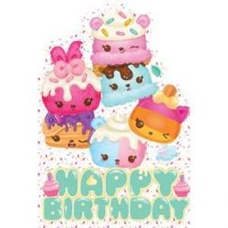 Num Noms Happy Birthday Card