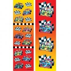 Racing Car Party Stickers