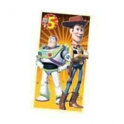 Toy Story Happy Birthday Age 5 With Free Badge