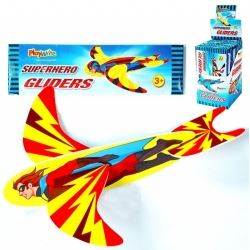 Party Bag Super Hero Aeroplane Glider Jets