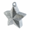 Star Balloon Weight Silver Glitter