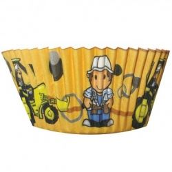 Chubblies Builder Party Cup Cake Cases