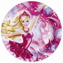Barbie Pink Shoes Party Plates