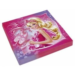 Barbie Pink Shoes Party Napkins
