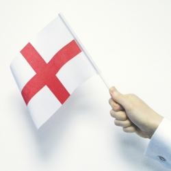 World Cup England Party Flags