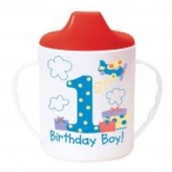 1st Birthday Boy Party  Sippy Cup