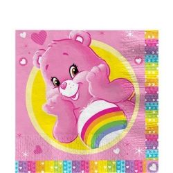 Care Bear Caring Is Sharing  Party Napkins.