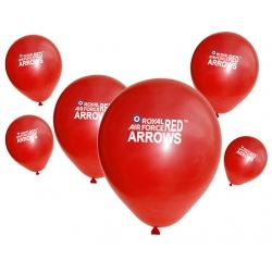 Aeroplane Red Arrow Party Balloons
