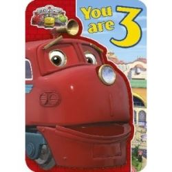 Chuggington Happy Birthday Card Age 3