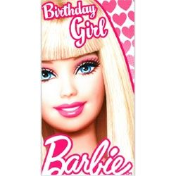 Barbie Doll Birthday Girl Card
