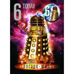 Doctor Who Birthday Card Age 6 With Badge