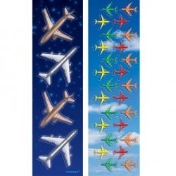 Aeroplane Party Stickers