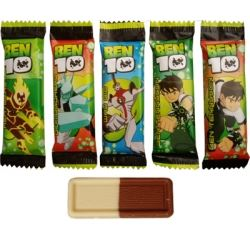 Party Favour Sweets Kinnerton Ben 10 Chocolate Bar