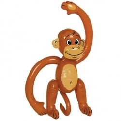 Inflatable Party Monkey