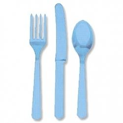 Blue Cutlery Party Set