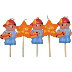 Chubblie Party Candles  Cool Dude Skateborder