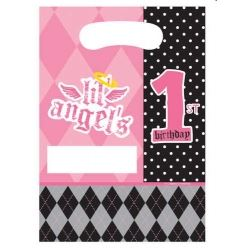 1st Birthday Girl Lil Angel Party Bags