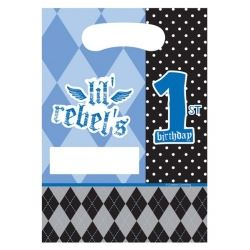1st Birthday Boy Lil Rebel Party Bags