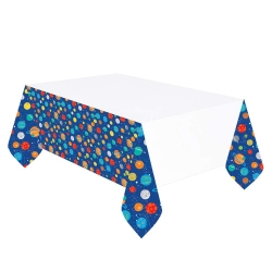 1st Birthday Boy Lil Rebel Party Tablecover