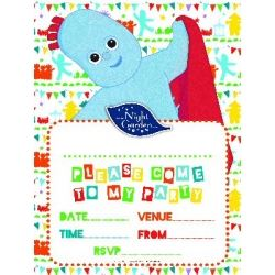 In The Night Garden Party Invitations