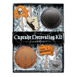 Halloween Cup Cake Decorating Kit
