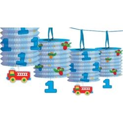 Fun At One Boy Party Lantern Garland