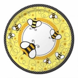Baby Bee Buzz Party Plates