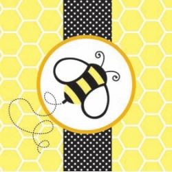 Baby Bee Buzz Party Napkins