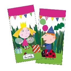 Ben And Hollys Lttle Kingdom Pink Party Bags