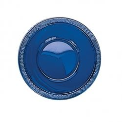 Navy Plastic Party Bowls.