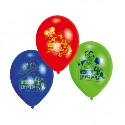 Disney Mickey Mouse Party Age 4 Balloons